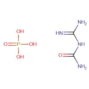 Guanylurea phosphate(1:?),CAS No. 17675-60-4.
