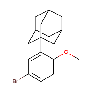 1-(5-Bromo-2-methoxy-phenyl)adamantane,CAS No. 104224-63-7.