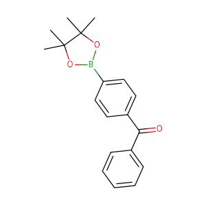 Phenyl(4-(4,4,5,5-tetramethyl-1,3,2-dioxaborolan-2-yl)phenyl)methanone,CAS No. 269410-03-9.