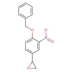 2-(4-(Benzyloxy)-3-nitrophenyl)oxirane,CAS No. 51582-41-3.