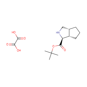 (1S,3aR,6aS)-tert-Butyl octahydrocyclopenta[c]pyrrole-1-carboxylate oxalate,CAS No. 907606-68-2.