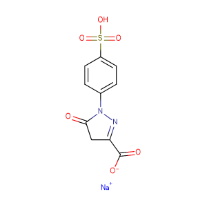 Sodium 5-oxo-1-(4-sulfophenyl)-4H-pyrazole-3-carboxylate,CAS No. 52126-51-9.