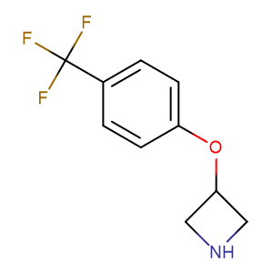 3-(4-(trifluoromethyl)phenoxy)azetidine,CAS No. 76263-21-3.