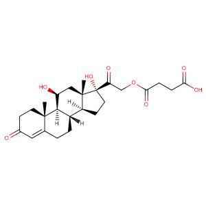 Hydrocortison-hydrogensuccinat,CAS No. 2203-97-6.