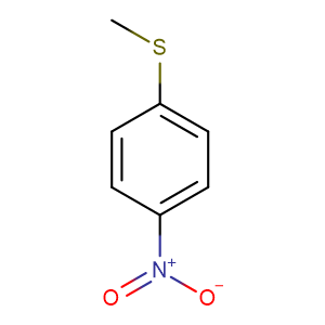 4-Nitrothioanisole,CAS No. 701-57-5.