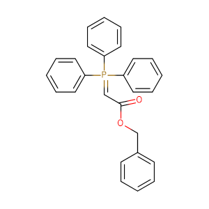 Benzyl (triphenylphosphoranylidene)acetate,CAS No. 15097-38-8.