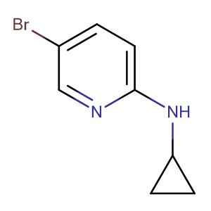 5-Bromo-N-cyclopropylpyridin-2-amine,CAS No. 885266-96-6.
