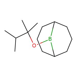 9-((2,3-Dimethylbutan-2-yl)oxy)-9-borabicyclo[3.3.1]nonane,CAS No. 89999-87-1.