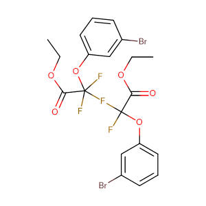 (3 - Bromo - phenoxy) - difluoro - acetic acid ethyl ester,CAS No. 850349-28-9.