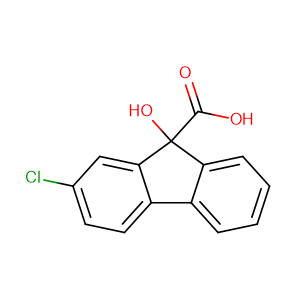 Chlorflurecol,CAS No. 2464-37-1.
