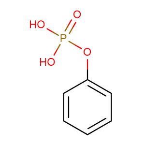 Phosphoric acid, monophenyl ester,CAS No. 701-64-4.
