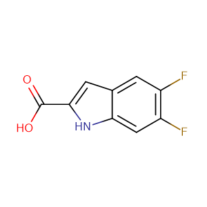 5,6-Difluoro-1H-indole-2-carboxylic acid,CAS No. 169674-35-5.