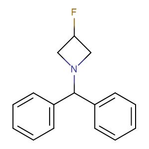Azetidine, 1-(diphenylmethyl)-3-fluoro-,CAS No. 617718-45-3.