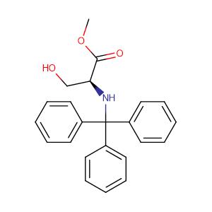 N-Trityl-L-serine methyl ester,CAS No. 4465-44-5.