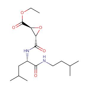 Aloxistatin,CAS No. 88321-09-9.