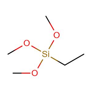 Silane, ethyltrimethoxy-,CAS No. 5314-55-6.