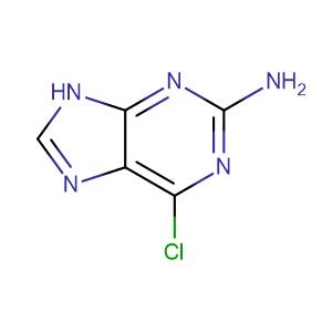 2-Amino-6-chloropurine,CAS No. 10310-21-1.