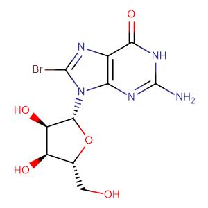 8-Bromoguanosine,CAS No. 4016-63-1.