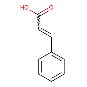 Cinnamic acid,CAS No. 621-82-9.