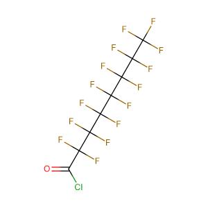 Pentadecafluorooctanoyl chloride,CAS No. 335-64-8.