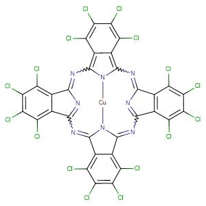Pigment Geen 7,CAS No. 1328-53-6.