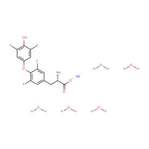 Sodium levothyroxine pentahydrate,CAS No. 6106-07-6.
