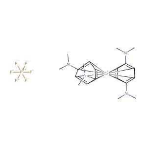 di[1,4-bis(dimethylamino)-η6-benzene]chromium hexafluorophosphate,CAS No. 639518-86-8.