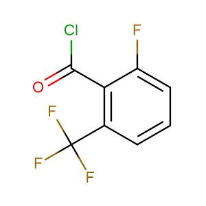 2-Fluoro-6-(trifluoromethyl)benzoylchloride,CAS No. 109227-12-5.