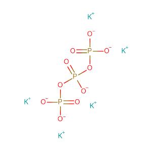 Pentapotassium triphosphate,CAS No. 13845-36-8.
