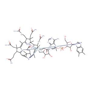 Cobamamide,CAS No. 13870-90-1.