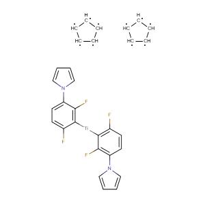 Bis(cyclopenta-1,3-diene)bis(1-(2,4-difluorophenyl)-3H-pyrrol-3-yl)titanium,CAS No. 125051-32-3.