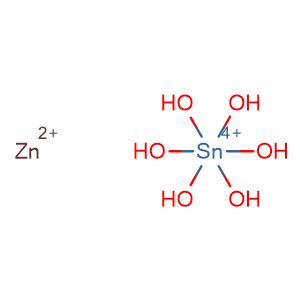 Zinc hexahydroxystannate,CAS No. 12027-96-2.
