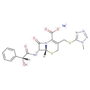 Sodium cefamandole,CAS No. 30034-03-8.