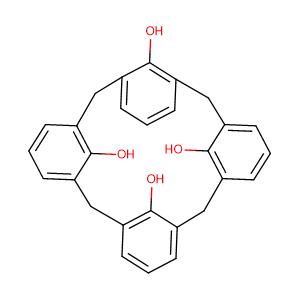 Calix[4]arene,CAS No. 74568-07-3.