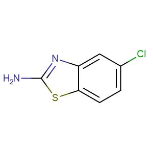 2-Amino-5-chlorobenzothiazole,CAS No. 20358-00-3.