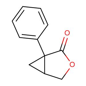 1-Phenyl-3-oxabicyclo[3.1.0]hexan-2-one,CAS No. 63106-93-4.
