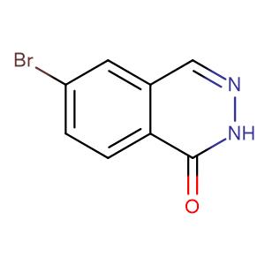 6-Bromophthalazin-1(2H)-one,CAS No. 75884-70-7.