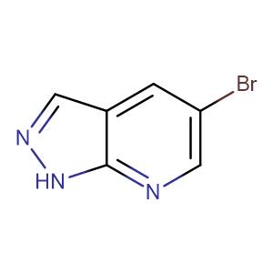 5-Bromo-1H-pyrazolo[3,4-b]pyridine,CAS No. 875781-17-2.