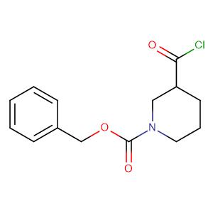 1-Benzyloxycarbonylpiperidine-3-carbonyl chloride,CAS No. 216502-94-2.