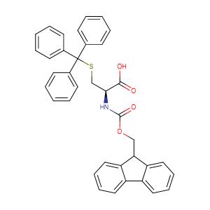 N-[(9H-fluoren-9-ylmethoxy)-carbonyl]-S-trityl-L-cysteine,CAS No. 103213-32-7.