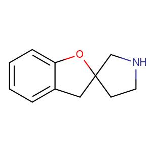 2,3-Dihydrospiro(benzofuran-2,3'-pyrrolidine),CAS No. 71916-78-4.