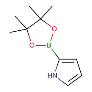 2-Pinacolateborylpyrrole,CAS No. 476004-79-2.