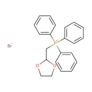 ((1,3-Dioxolan-2-yl)methyl)triphenylphosphonium bromide,CAS No. 52509-14-5.