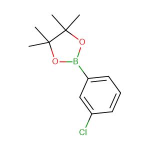 3 - Chlorophenylboronic acid pinacol ester,CAS No. 635305-47-4.