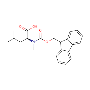 N-[(9H-fluoren-9-ylmethoxy)carbonyl]-N-methyl-L-Leucine,CAS No. 103478-62-2.