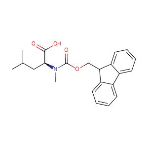 N-[(9H-fluoren-9-ylmethoxy)carbonyl]-N-methyl-L-Leucine,CAS No. 103478-62-2.