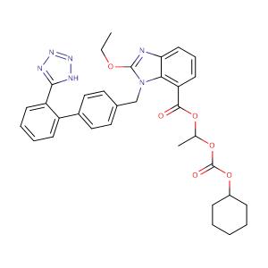 Candesartan cilexetil,CAS No. 145040-37-5.