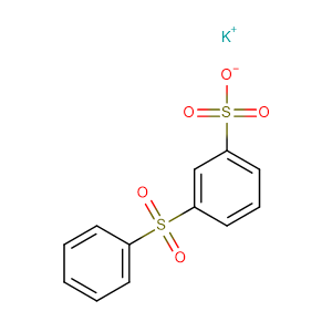Potassium 3-(phenylsulfonyl)benzenesulfonate,CAS No. 63316-43-8.