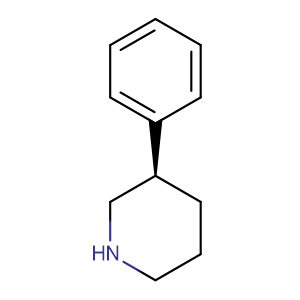 (R)-3-Phenyl piperidine,CAS No. 430461-56-6.