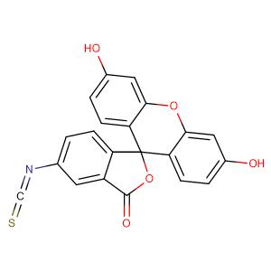 Fluorescein isothiocyanate isomer I,CAS No. 3326-32-7.
